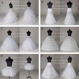 Wholesale Cheap Mermaid Wedding Dresses Online - Newest 2015 Cheap 6 Styles White A Line Mermaid Ball Gown Hoop Hoopless Short Crinoline Petticoat Slip Underskirt For Wedding Dresses Online