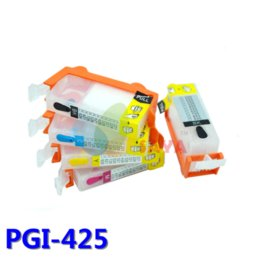 Wholesale Ink Cartridge Empty Compatible - 1SET PGI425 CLI426 Compatible ink cartridge for Canon IP4840 IP4940 IX6540 MG5140 MG5240 MG5340 MX714 MX884 MX894 with arc chips