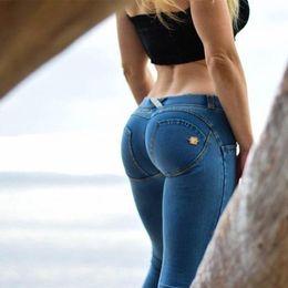 Wholesale Lady Jeans Pants - 2017 Womens Spring Autumn Casual Skinny Jeans Women Velvet Leging Jeans Blue Black Ladies Jeggins Denim Skinny Legging Pants