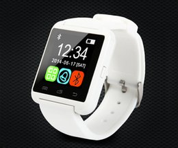 Wholesale Mp3 Watch Phone - U8 Bluetooth Smart Watch U Watch 2 with ALTIMETER Phonebook Call  MP3  Alarm For Samsung S6 S5 NOTE 4 Andriod Phone and iPhone 6 plus 5S