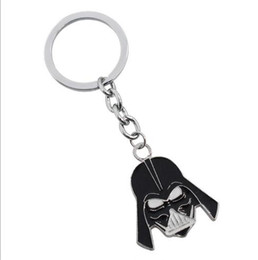 Wholesale Sell Girlfriend - Hot sell fashion European and American movie Key Chain metal mask key rings a personalized creative gift of a couple's girlfriend wholesale