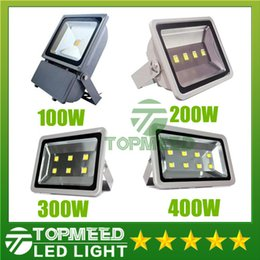 Wholesale Led Flood Lights Gas Station - DHL 100W 200W 300W 400W Led Floodlights High Power Outdoor flood light Led Gas Station Lighting Waterproof Led Canopy Lights AC 85-277V