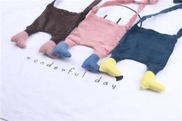 Wholesale Wallet Cute - kids purse wallet Cartoon Children Shoulder Bags Pants foot Fashion Baby Messenger Bag Cute Casual Girls Bags C2009