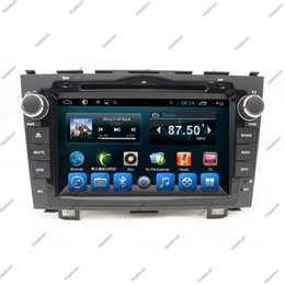 Wholesale Car Dvd Honda Crv - In car entertainment system car dvd audio stereo built in gps radio wifi bluetooth touchscreen fit for Honda Old Crv