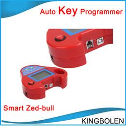 Wholesale Zed Bull - Newly 2017 Smart Zed Bull Auto key maker mini zed-bull car key copier DHL Fedex Post Free shipping