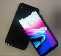 Wholesale New Smartphone Unlocked - New Clone goophone X goopone iX smartphone 5.5 inch Quad Core 1GB RAM 8GB ROM 3G show 4G LTE unlocked cell phones