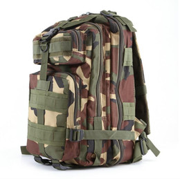 Wholesale Army Style Camping Backpack - 12 style Backpack Hot Sale super high quality Men Women Outdoor Military Army Tactical Backpack Molle Camping Hiking Trekking Camouflage bag