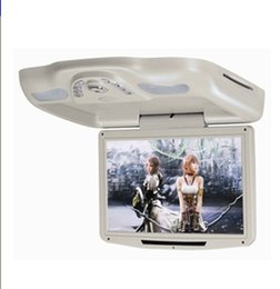 Wholesale Digital Mini Car Mp3 Player - 12.1'' Flip down Car DVD Monitor with USB SD IR FM Transmitter Wireless game