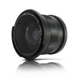 Wholesale Rebel T3i Slr - 0.35x 58mm Super Fisheye Wide Angle Lens for 58 MM Canon Rebel T3i T3 T2i T1i T2 T3 700D 650D 600D 550D
