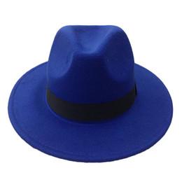 Wholesale rain snaps - Men's Wool Felt Snap Brim Hat Trilby Women Vintage Wool Panama Fedora Cloche Cap Wool Felt Jazz Hats 13 colors