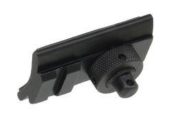 Wholesale Picatinny Mount Bipod - Funpowerland High quality Advanced Optics Rifle Bipod Swivel Stud Picatinny Slot Adaptor 20mm bipod Adapter Mount Free Shipping