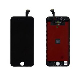 Wholesale Wholesale Cell Phone Screen Replacement - For iphone 6 6plus Original LCD Display Touch Digitizer Complete Screen with Frame Full Assembly Replacement Cell Phone Touch Panels