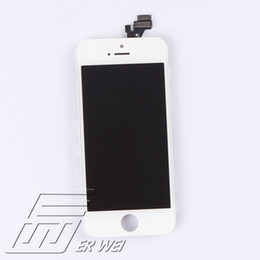 Wholesale lcd dot display - Wholesale-100% Tested No Dead Pixel No Dots LCD Retina Display Screen Assembly For iPhone 5G 5S 5C