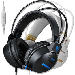 Соматические гарнитуры онлайн-Наушники Somic G911 с микрофоном HIFI Стереогарнитура для наушников с шумоизоляцией