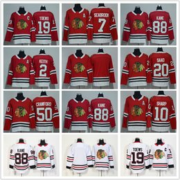 72f9cbfd8 2018 Chicago Blackhawks Jerseys 2 Duncan Keith 19 Jonathan Toews 50 Corey  Crawford 7 Brent Seabrook 88 Patrick Kane Hockey Jerseys Cheap