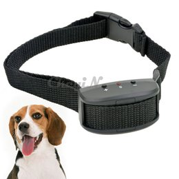 Wholesale Dog Training Collar Beeper - Safety 7 Levels Sensitivity Beeper & Electric Shock No Barking Pet Dog Training Collar Anti Bark Pet Trainer Collar for Dogs