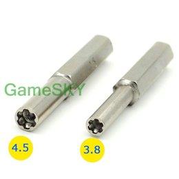Al por mayor-10 pares de destornillador de destornillador de seguridad 3.8 mm 4.5 mm para Super 64 herramientas de reparación del sistema desde fabricantes