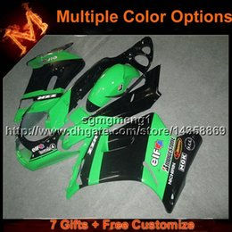 Wholesale 93 Kawasaki Ninja Fairings - 23colors+8Gifts GREEN BLACK motorcycle cowl For Kawasaki ZZR250 1990-1996 ZZR250 90 91 92 93 94 95 96 ABS Plastic Fairing