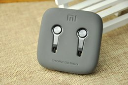 Wholesale Iphone5 Mic - XIAOMI Piston 3 earphone Headphone Bass Sound Metal Headset With Remote Mic For Xiaomi Apple iphone5 6 Samsung HTC