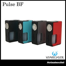 Wholesale Authentic Food - Authentic Vandyvape Pulse BF BOX Mod with 8ml Food Grade Silicone Bottle & Magnetic Structure Design Powered by 18650   20700 Battery