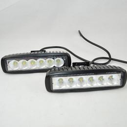 große led-streifen Rabatt LED Bar Licht 1550LM Mini 6 Zoll 18W 6 CREE LED Bar Arbeitslicht als Arbeitsscheinwerfer Flutlicht Spot Licht für Bootfahren Jagd Angeln