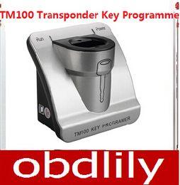 Wholesale Transponder Key Programmer Machine - 2017 Newest V3.09 TM100 Transponder Full Version With 62 Modules Quickly Auto Key Programmer Transponder Key Programming Machine