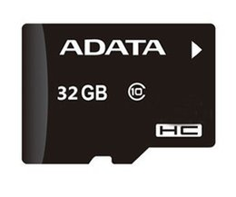 Wholesale Adata 32gb Sd Sdhc Card - 100% Real Adata 32GB Micro SD Card Class 10 Genuine Full Capacity 32GB Micro SDHC TF Transflash Memory Card with Adapter Sealed Package 20pc