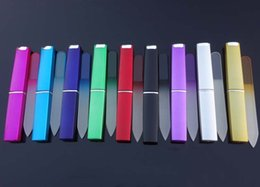 "Wholesale Crystal Case Glass - Crystal Glass Nail File with Match Hard Case 3 1  2 "" Your Choice of Colors Nf009 Nail Manicure Art Tool 9 Colors available"