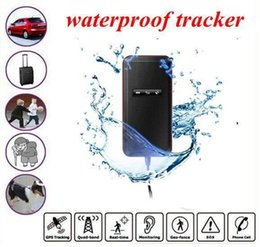 Wholesale Cars Route - waterproof GPS GPRS GSM Vehichle Car tracker Locator anti-theft Realtime tracking system historical route GT02A-2 dropshipping