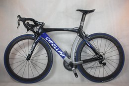 Wholesale Road Bike Group Sets - china Full carbon fiber road bike,6800 group set and cheap carbon bicycle,cipollini rb1k complete carbon bike Hot on sale