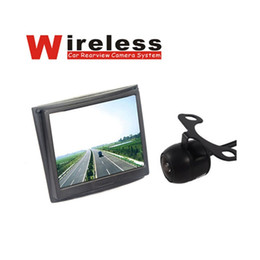 "Wholesale Wireless Dvr Security Camera Systems - 3.5"" Monitor + 120 Degree Backup Camera Car Dvr Wireless Security Parking Rear View System"