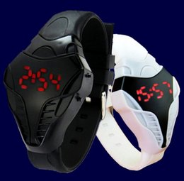 Wholesale Watch Head Wholesale - 2015 New men male sport led watch Triangle Dial snake head Cobra women Men's Wristwatch Silicone Rubber Creative digital Watches