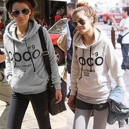Wholesale Hoodies Coco - Leisure Womens Korean Hoodie COCO Jacket Coat Outerwear Hooded Sweatshirt Tops CY0805 Free shipping Drop shipping