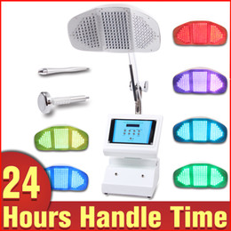 Wholesale Facial Tightening - 7 Colors LED Light PDT Photon Acne Cure Wrinkle Removal Facial Skin Care Machine Fast Shipping