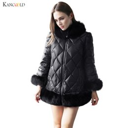 Wholesale Leather Mink Coats Women - Fur Jacket Gilet Winter Thick Warm Leather Mink Faux Fur Coat Collar Women Pelliccia Ecologica Manteaux Fausse Fourrure nov02