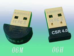 Wholesale Mini Usb Dongle Retail - 2015 Newest Product Mini USB 4.0 Bluetooth V4.0 Dongle Adapter Wireless for PC Adapter USB Bluetooth HZ 232 With Retail Package