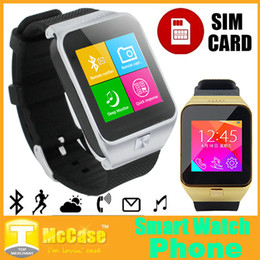 Wholesale Answer Gear - S28 Gear 2 Bluetooh Smart Watch Phone With 1.54'' Touch Screen SIM TF Card Dial Call SMS Pedometer For Android Samsung S4 S5 IOS iPhone