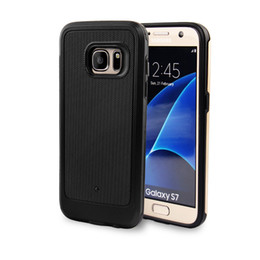 Wholesale Diamond Cell Phone Cases - For Samsung S7 cell phone case shell new curved screen mobile phone sets spot screen diamond pattern anti fall protective cover