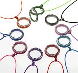 Medaglione galleggiante bianco medaglione rotondo in vetro magnetico 30mm medaglioni galleggianti in lega di zinco + pendenti in strass con catena per 10PC gratuiti da