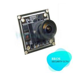 Wholesale Osd Pcb Board Camera - HD 700TVL Sony CCD 2.1mm Wide Angle Lens Mini FPV PCB Board Camera OSD D-WDR