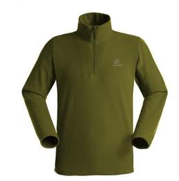 Arrampicata abiti da trekking online-All'ingrosso-Libero di trasporto 2013 nuovi uomini di moda all'aperto escursionismo Tad giacca uomo arrampicata giacca in pile caccia abbigliamento sportivo vestiti 4 colori