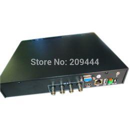 Wholesale Time Recording Surveillance Camera - 4CH 1.3MP 720P Surveillance HD SDI DVR Real-time Recording 4pcs 1.3M 720P HD SDI outdoor camera free shipping