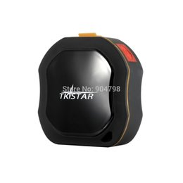 Wholesale Gps Tracking Systems For Kids - TKSTAR Mini Waterproof GPS Tracker GSM Tracking System for Kids Pets Cars 2016 free shipping