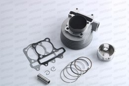 Wholesale Gy6 Engine Cdi - GY6 180cc Cylinder Assy (61mm) For 125cc 150cc GY6-1P52QMI GY6-1P57QMJ Engines