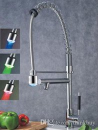 chrome pull out led with best reviews - brass chrome hydro power pull out led faucet 072626