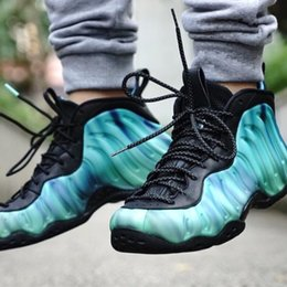 Wholesale Penny Tennis Shoes - HOT SALE 2018 Air Penny Hardway Galaxy Foamposite Pro Olympic Women Men Basketball Design Running Shoes Sneakers