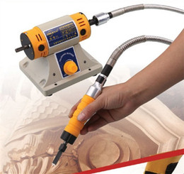 Wholesale Machines Engrave Wood - 220v Electric chisel carving tools wood chisel carving machine Engraving Machines