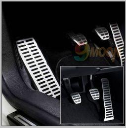 Wholesale Vw Passat B6 B7 Cc - Wholesale-Stainless Steel car pedal for Volkswagen vw Golf 5 6 octavia Jetta MK6 Scirocco CC Passat B6 B7 TIGUAN Toureg