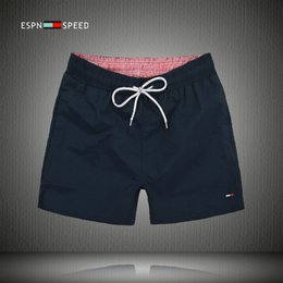 Wholesale orange waffles - New 2018 Summer Men Beach Shorts Brand Quick Drying Men Shorts Surf Short Pants Plus Size M-XXL Free shipping