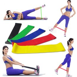 Wholesale Muscle Building Gym - 100% natural latex resistance band loop body building fitness exercise high tension muscle home gym for leg ankle weight training H101